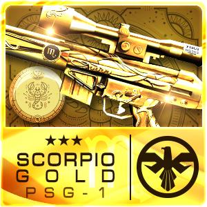 SCORPIO GOLD PSG-1 (Permanent)