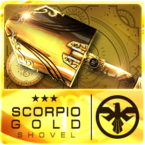 SCORPIO GOLD SHOVEL (Permanent)