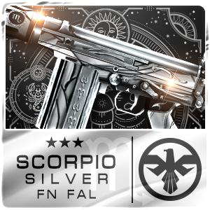 SCORPIO SILVER FN FAL (Permanent)
