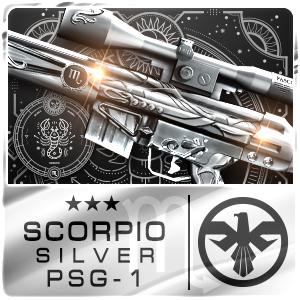 SCORPIO SILVER PSG-1 (Permanent)