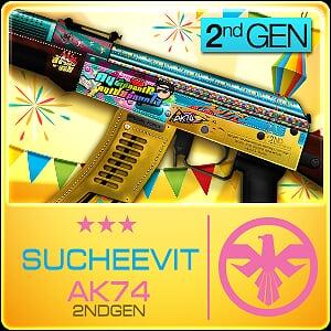 SU CHEEVIT AK74 2nd Gen (Permanent)