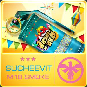 SU CHEEVIT M18 SMOKE  (Permanent)