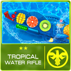 TROPICAL WATER RIFLE (Permanent)