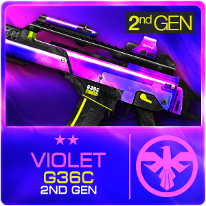 VIOLET G36C 2ND GEN (Permanent)