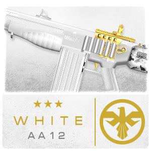 WHITE AA12 (Permanent)