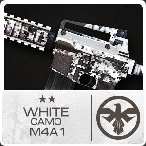 WHITE CAMO M4A1 (Permanent)