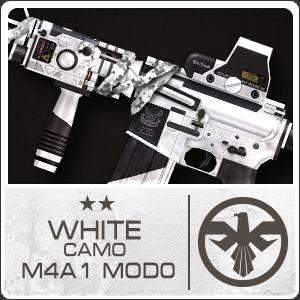 WHITE CAMO M4A1 MOD0 (Permanant)