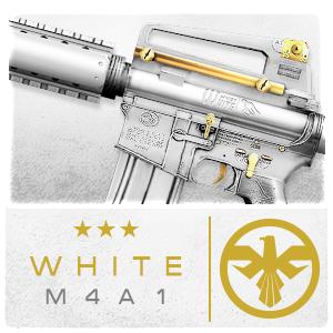 WHITE M4A1 (Permanent)
