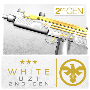 WHITE UZI 2ND GEN (Permanent)