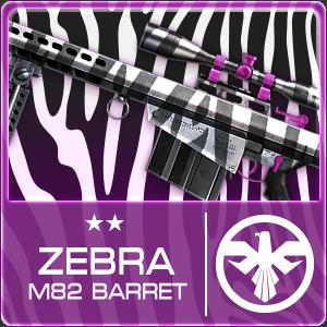 ZEBRA M82 BARRET (Permanent)