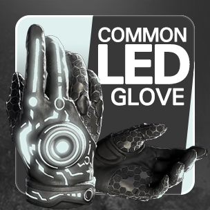 Common LED Glove (14วัน)