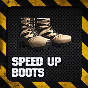 Speed Up Boots (3 วัน)