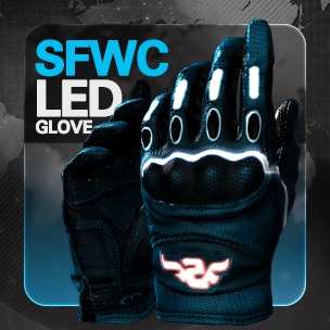SFWC LED Gloves (7 วัน)