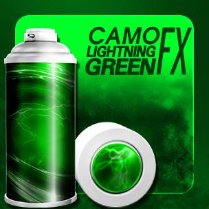CAMO Lightning Green FX  (ถาวร)
