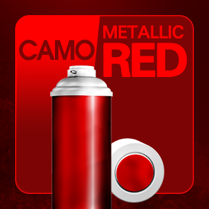CAMO Metalic Red (ถาวร)