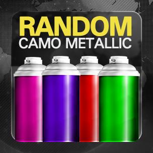 Random CAMO Metallic (ถาวร)