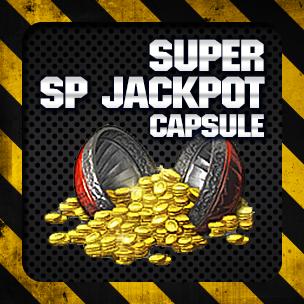 Super SP Jackpot Capsule (10 ลูก)