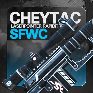 CheyTac Laserpointer Rapidfire SFWC (7 วัน)
