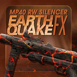 MP40 RW Silencer Earthquake FX (7 วัน)