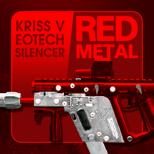 Kriss V EOTech Silencer Red Metal (ถาวร)