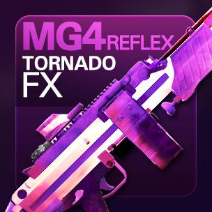 MG4 Reflex Tornado FX (ถาวร)