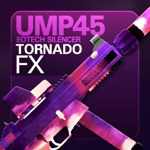 UMP45 EOTech Silencer Tornado FX (ถาวร)