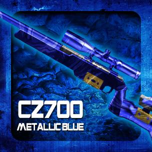 CZ700 Metallic Blue (ถาวร)