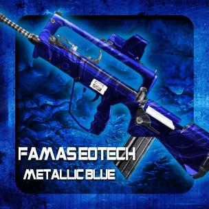 FAMAS EOTech Metallic Blue (ถาวร)