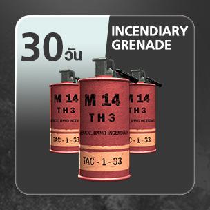 Incendiary Grenade  (30 วัน)