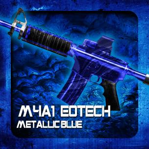 M4A1 EOTech Metallic Blue (ถาวร)