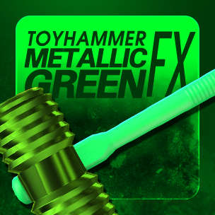 Toy Hammer Metallic Green  (ถาวร)