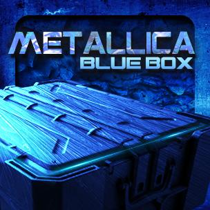 METALLICA Blue Box