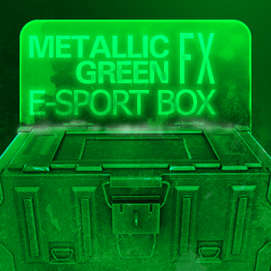 Metallic Green e-Sport