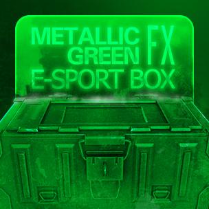 Metallic Green e-Sport 2nd. box