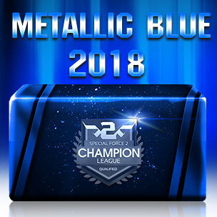 Metallic Blue 2018