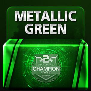 Metallic Green 2018